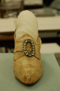 Elizabeth Monroe Wedding Shoe Front