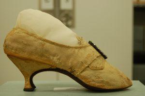 Elizabeth Monroe Wedding Shoe Side