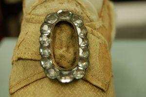 Elizabeth Monroe Wedding Shoe Detail